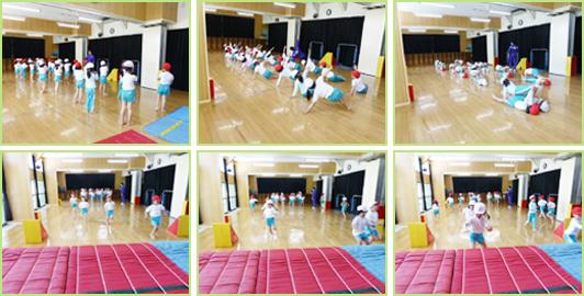鳴海保育園体操教室